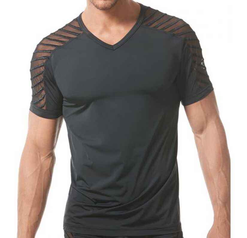 Soiree shirt Zwart