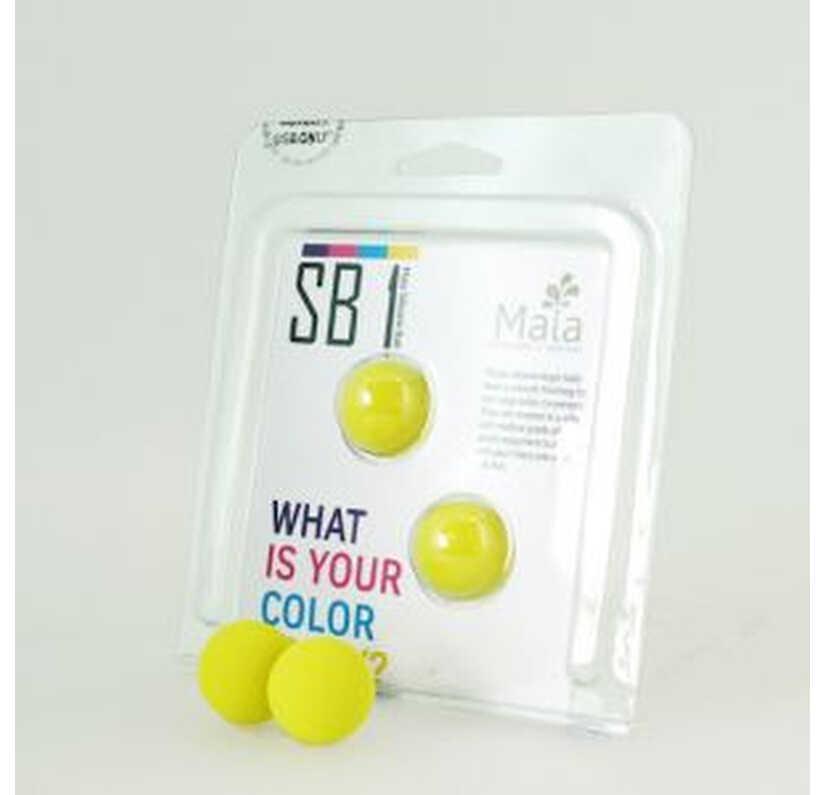 Chummy yellow balls