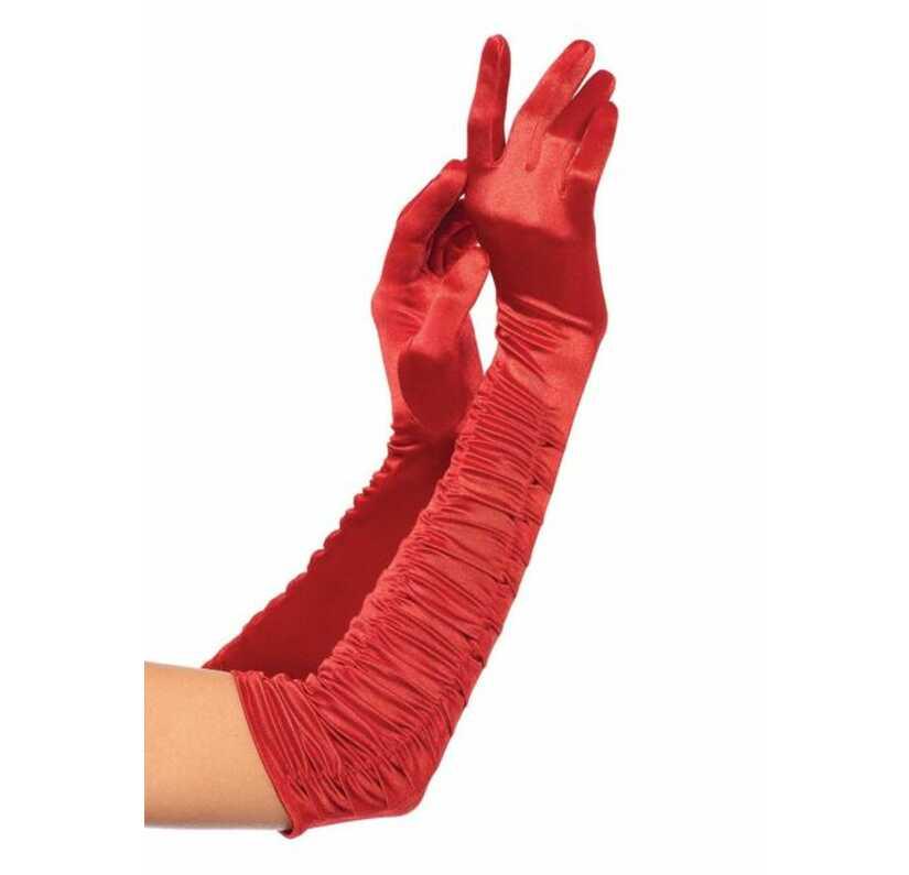Satijnen handschoenen