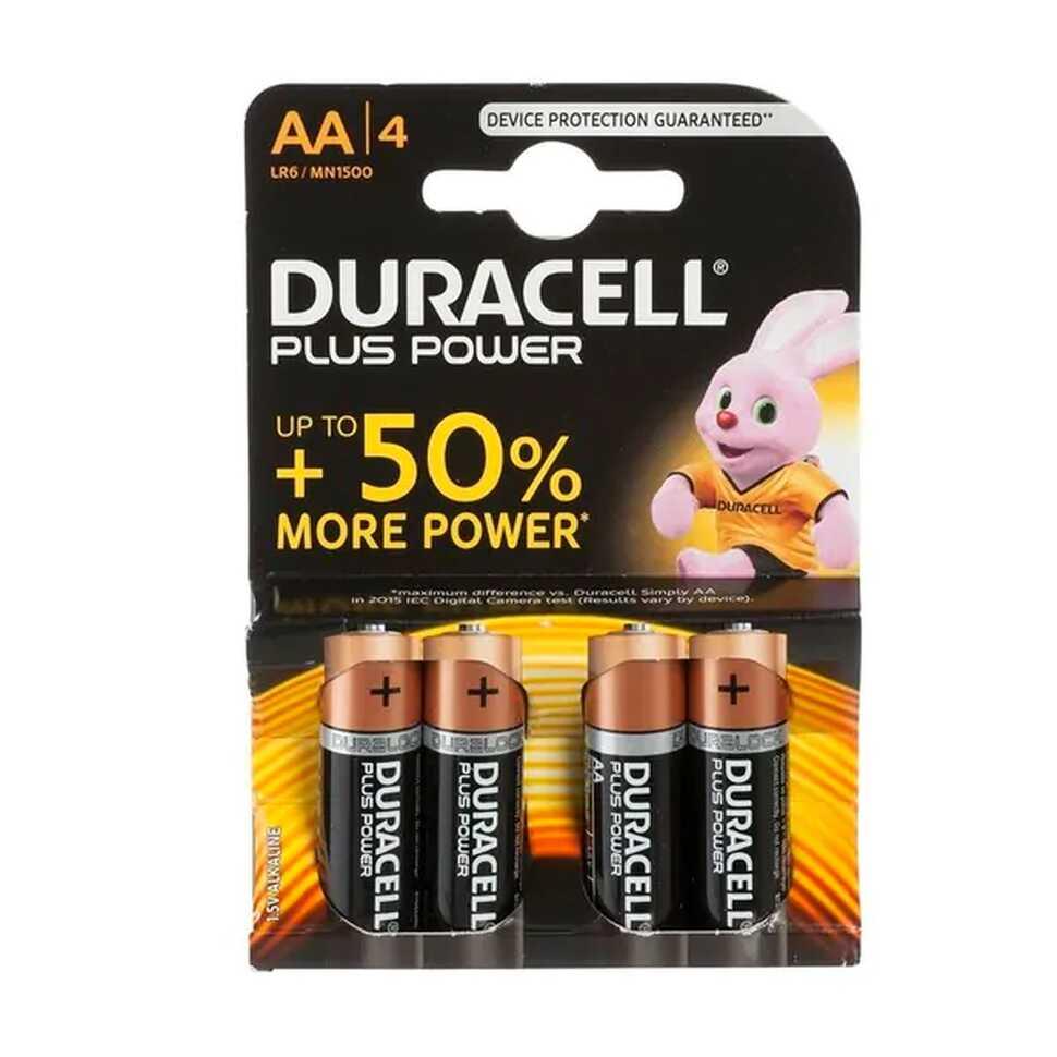 Batterijen Duracell AA