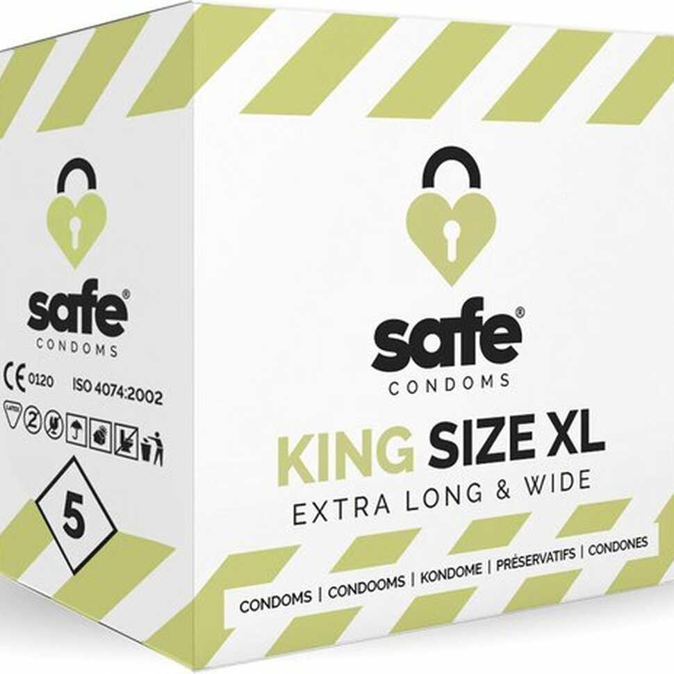 King Size XL condooms 5 stuks